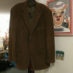 Lauren by Ralph Lauren 44R Corduroy Blazer Jacket